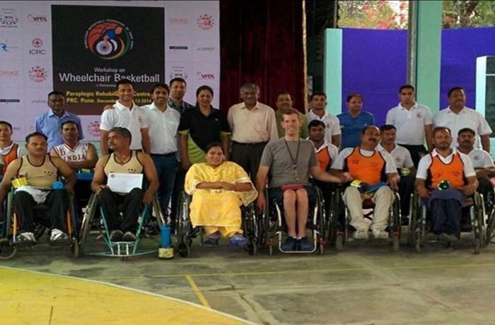 Wheelchair basketball workshops in Pune