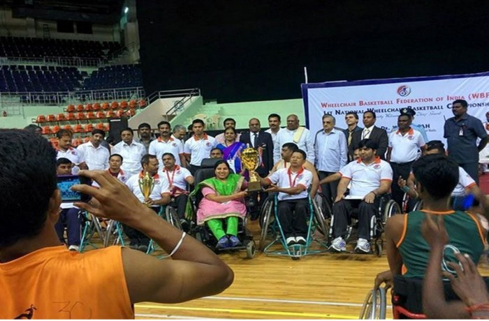 First wheelchair basketball tournament in India