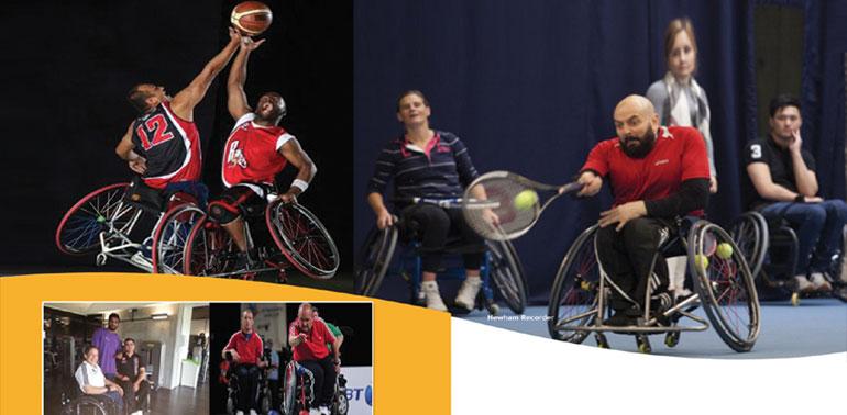 Leicester wheelchair sports
