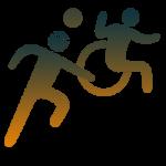 Mixed Wheelchair Sports Icon